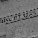 Hazlitt Road sign